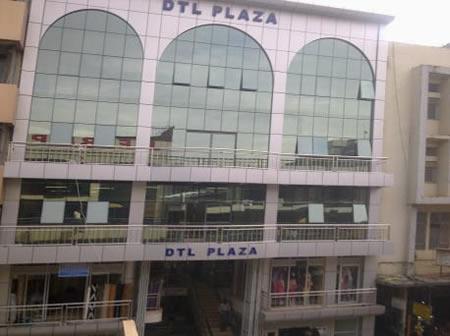 DTL Plaza on plot 23B Luwum Street in Kampala
