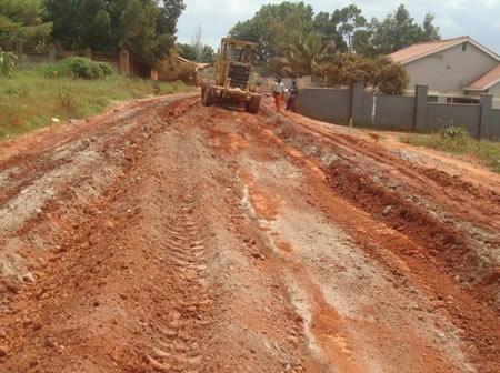 Rehabilitation of Kigowa road 2km in Nakawa division under KCCA