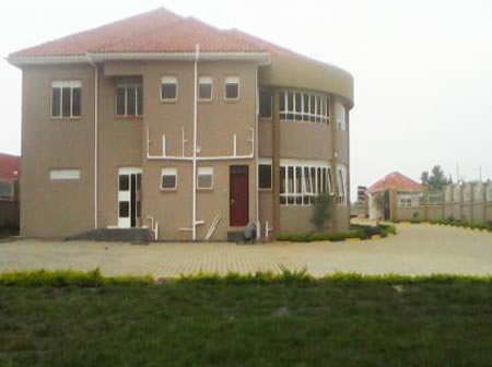 Side view of Offices of Auditor General - Mbarara