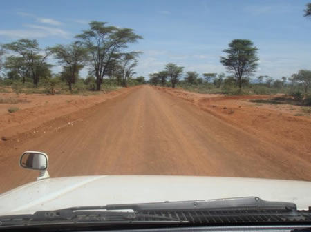 Compacted section along Kifampa-Matongo-Kabbankonyo road in Mpigi