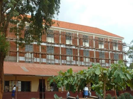 Classroom block at Nkuke P/S Kyanamukaaka Masaka