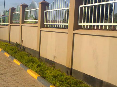 Perimiter Wall on Office of Auditor General - Mbarara