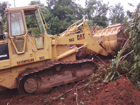 Clearance of the Bush in Banda (Ssesiriba rd) – Wakiso District